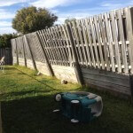 Timber retaining wall