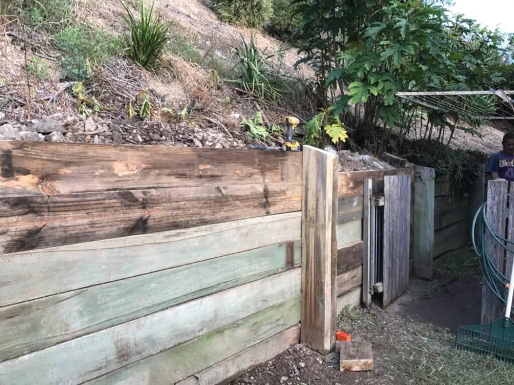 home handyman services retaining wall repair