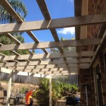 Small carpentry jobs like pergolas are our bread and butter