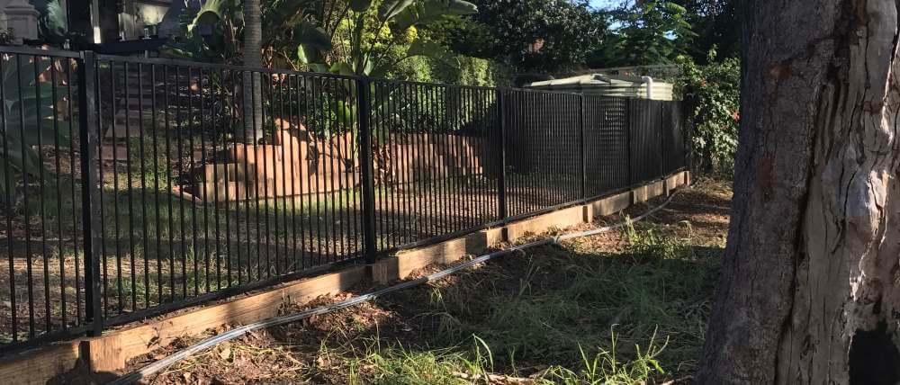 fences background