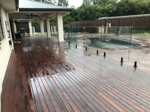 galea pool deck