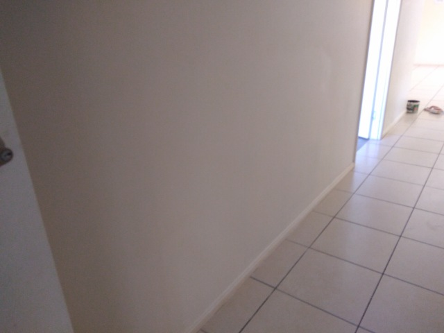 after painting and plastering