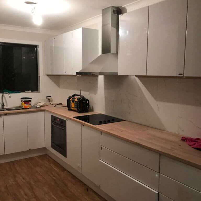kitchen renovation Oxenford handyman
